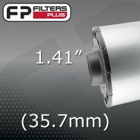 "1.41"" - (35.7mm) OUTLET"