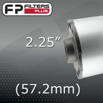 "2.25"" - (57.2mm) OUTLET"