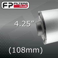 "4.25"" - (108mm) OUTLET"