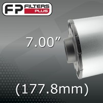 "7"" - (177.8mm) OUTLET"