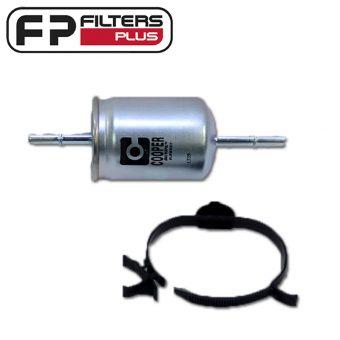 WZ578 Wesfil Fuel Filter Perth Fits Holden Haval Ford Melbourne Sydney
