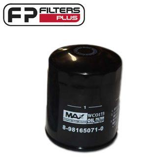 WCO173 Wesfil Oil Filter Fits Isuzu D-Max, MU-X