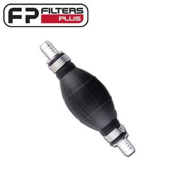 Filters Plus 12mm Bulb Hand Primer Perth Melbourne Sydney Cars Trucks 4x4 Marine