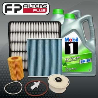 WK21CABM Wesfil Full Service Kit with Mobil oil 5W30 Toyota Landcrusier 200 Series Perth Sydney Melbourne
