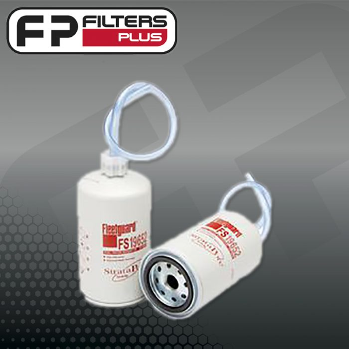 FS19652 Fleetguard Fuel Filter Perth Melbourne Sydney Australia Suits Cummins