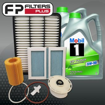 WK22CABM Wesfil Service Kit with Mobil 1 ESP Full Synthetic Oil Perth Sydney Melbourne Australia