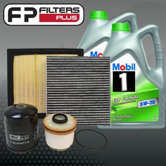 WK42CABM Wesfil Service kit with Full Synthetic Mobil 1 ESP 5W30 Engine Oil Perth Melbourne Sydney Australia