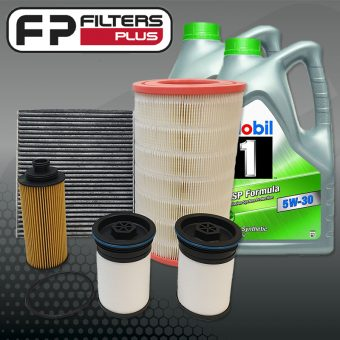 WK50CABM Wesfil Service kit with 10L Mobil 1 ESP Full Synthetic Engine Oil