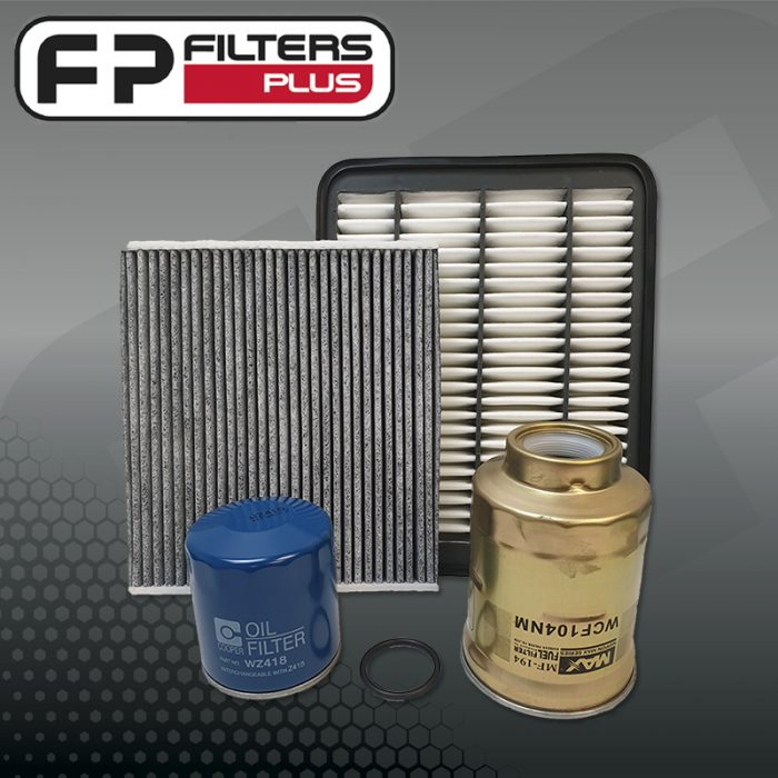 WK59CAB Wesfil Service kit for GD150R Toyota Prado Oil Fuel Air Cabin Filters Perth Melbourne Sydney Australia