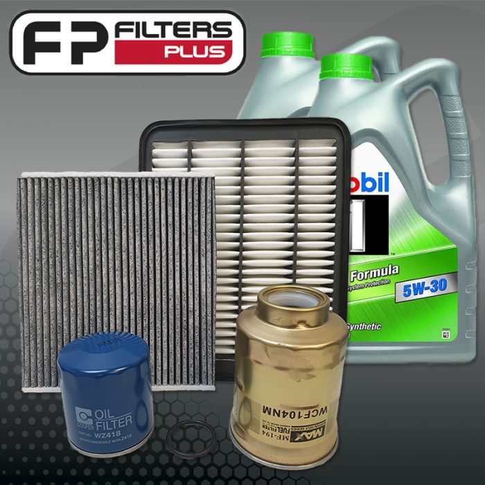 WK59CABM Wesfil Service kit with full synthetic mobil engine oil Toyota Prado GD150R Perth Melbourne Sydney Australia
