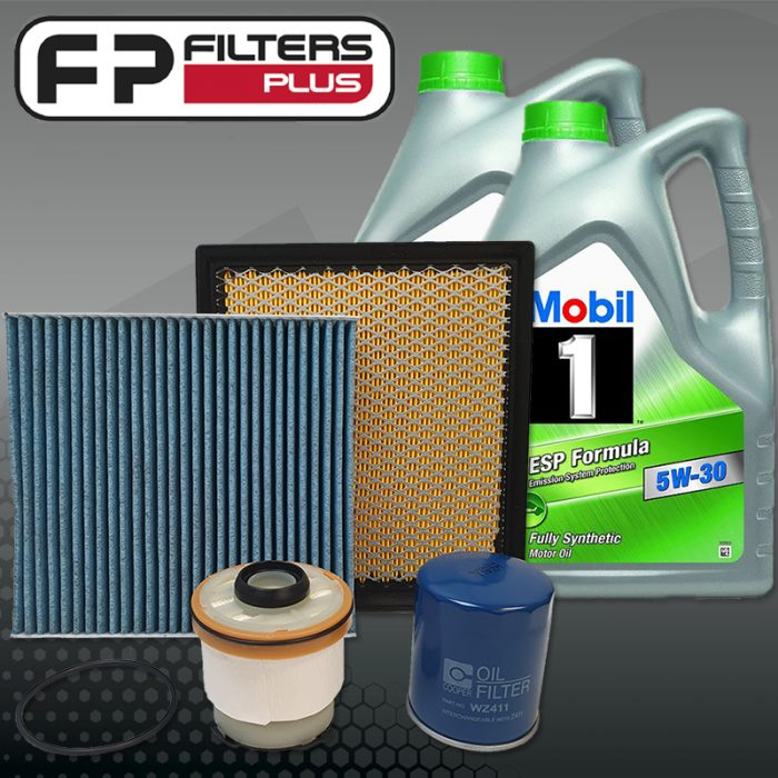 WK69CABM Wesfil Service Kit with 10L of Full Synthetic Mobil Engine Oil MQ Triton Perth Melbourne Sydney Australia