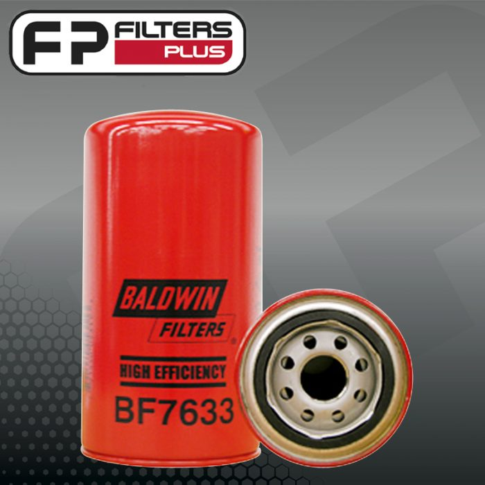 BF7633 Baldwin Fuel Filter Perth Melbourne Sydney Australia Suits Caterpillar