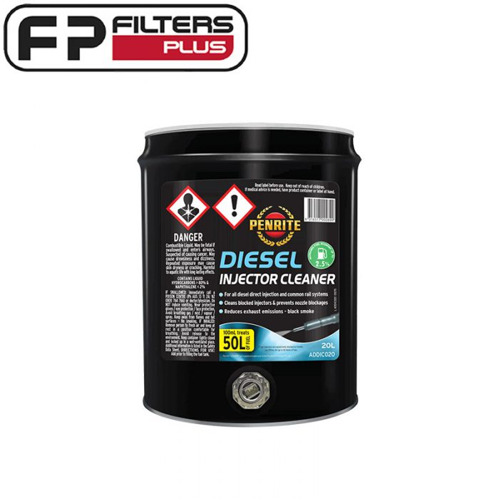 ADDIC020 Diesel Injector Cleaner 20 Litre Drum Perth Melbourne Sydney Australia