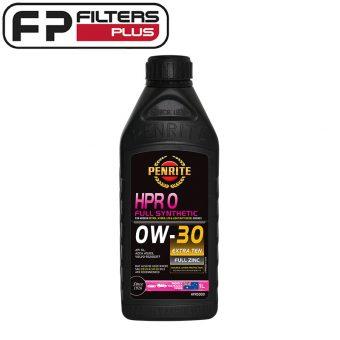 HPR00001 Penrite 0W-30 HPR0 Oil 1 Litre Perth Melbourne Sydney Australia