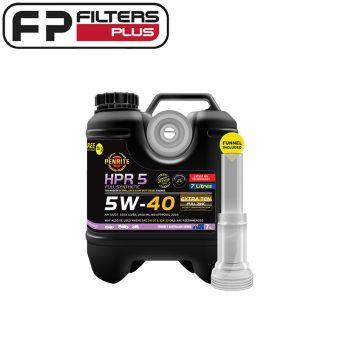 HPR05007 Penrite HPR5 5W-40 7 Litre Engine Oil Perth Melbourne Sydney Australia