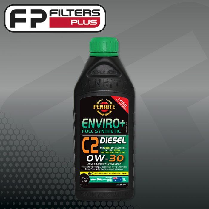 Penrite Enviro Plus 0W30 Full Synthetic Engine Oil 1 Litre Perth Melbourne Sydney Australia