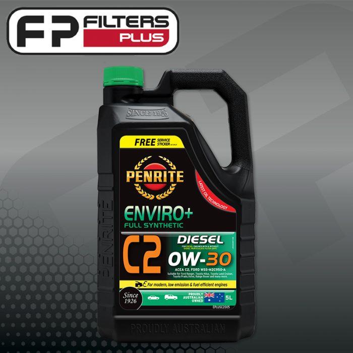 Penrite Enviro Plus 0W30 Diesel Full Synthetic Engine Oil Perth Melbourne Sydney Australia