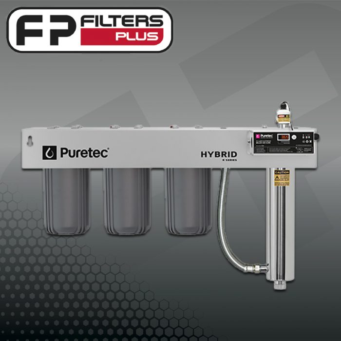 Puretec Triple Stage Carbon UV Water Filter System Hybrid-G10 Perth Melbourne Sydney Australia