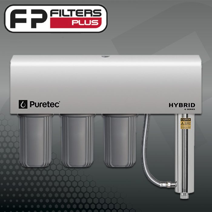 Puretec Hybrid-G12 Whole House Water Filter System Triple Stage Plus UV Perth Melbourne Sydney Australia