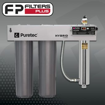 Purtec Hybrid-R2 Whole House Carbon UV Water Filter System Perth Melbourne Sydney Australia