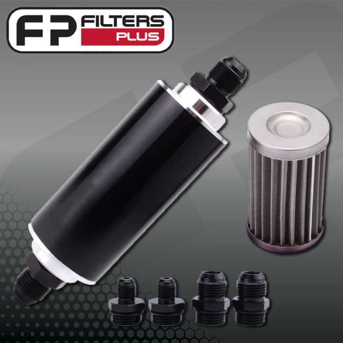 IFS0001 Inline Fuel Strainer for Race Cars Perth Melbourne Sydney Australia Hydraulic Strainer
