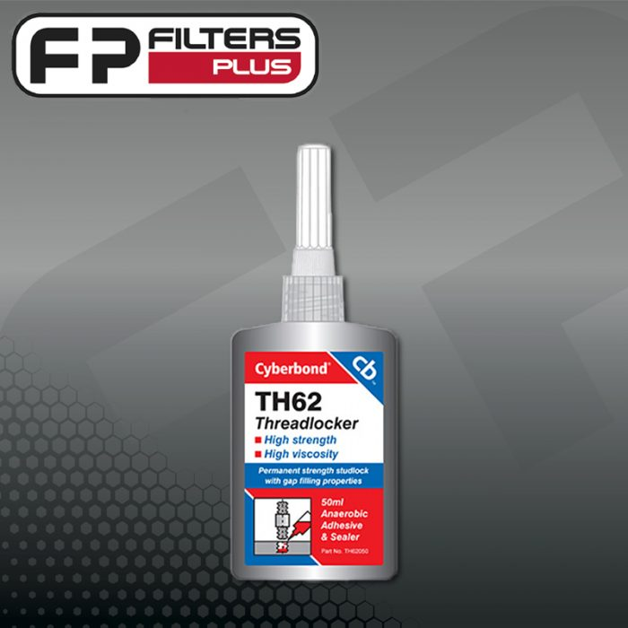 TM62 Cyberbond Threadlocker Loctite 262 Perth Melbourne Sydney Australia