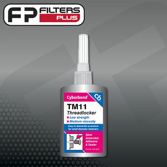 TM11 Cyberbond threadlocker Loctite 222 Perth Melbourne Sydney Australia