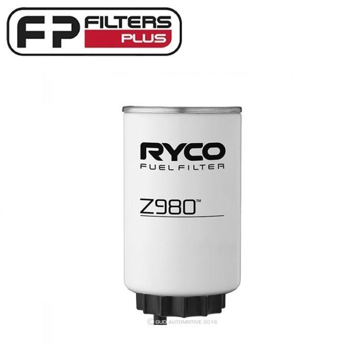 Z980 Ryco Fuel Filter for 4wd 4x4 Perth Melbourne Sydney Australia