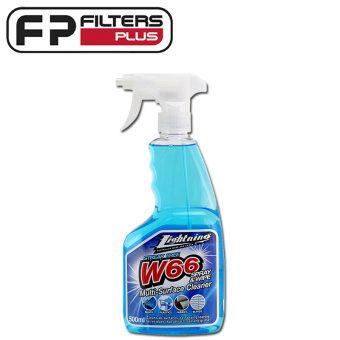 W66 Lightning Glass Cleaner 500ml 066C Perth Melbourne Sydney