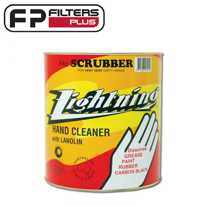 Lightning 4KG Super Heavy Duty Grit Hand Cleaner Perth Melbourne Sydney