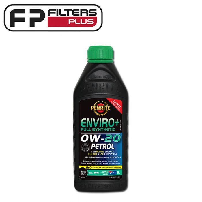 Penrite Enviro+ 0W20 Full Synthetic Engine Oil 1 Litre Perth Melbourne Sydney Australia