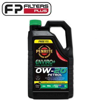 Penrite Enviro+ 0W20 Engine Oil 5 Litre EPLUS0W20005 Perth Melbourne Sydney Australia