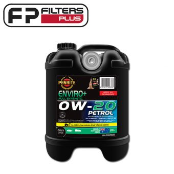 Penrite Enviro+ 0W20 Full Synthetic Engine Oil 20 Litres Perth EPLUS0W20020 Melbourne Sydney Australia
