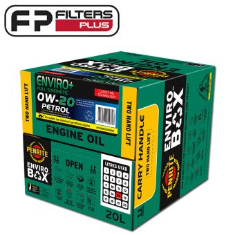 Penrite Enviro+ 20 Litres Box 0W20 Full Synthetic Engine Oil Perth EPLUS0W20020BOX Sydney Melbourne Australia