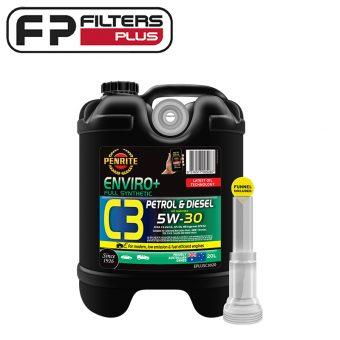 Penrite Enviro+ C3 5W30 20 Litres Perth Full Synthetic EPLUSC3020 Melbourne Sydney