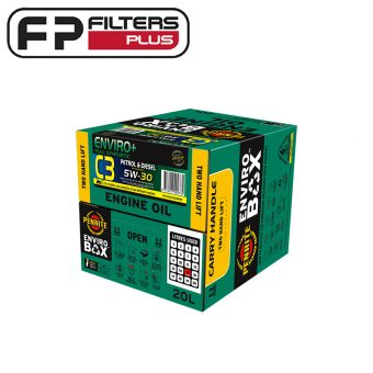 Penrite Enviro+ C3 5W30 Full Synthetic Engine Oil in Environmentally friendly box Melbourne Sydney