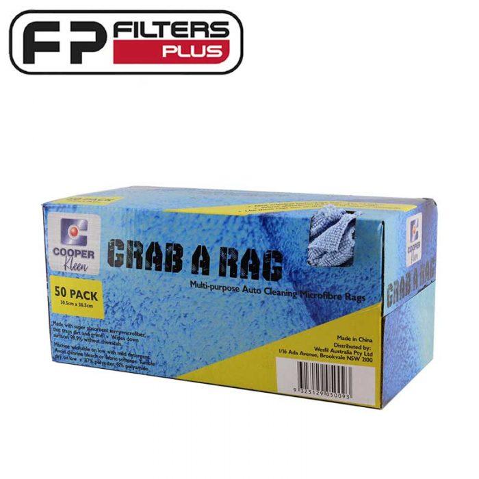 Wesfil Cooper Grad A Rag micro fibre clothes 50 pack GRAB-A-RAG Perth Melbourne Sydney