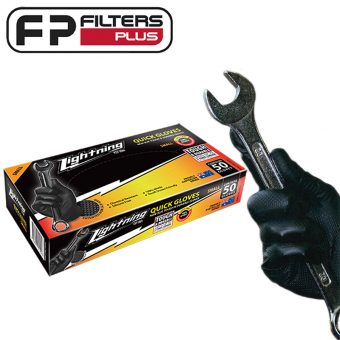 Lightning Mechanics Disposable Grip Glove XL Extra Large Penrite Perth Melbourne Sydney