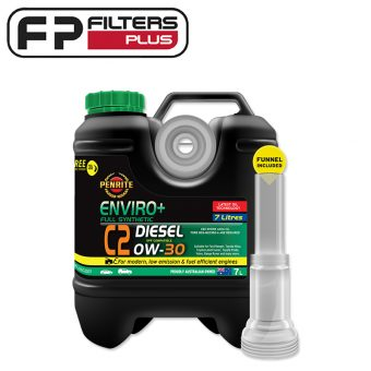 EPLUSC2007 Penrite Full Synthetic Engine Oil Perth C2 0W30 Melbourne 7 Litres Sydney Toyota