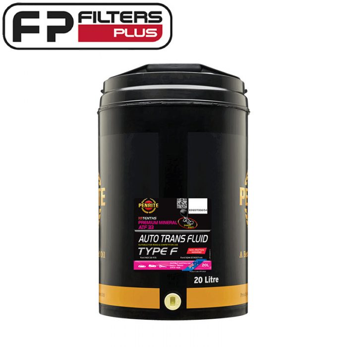 Penrite special ATF33 Type F Perth Automatic Transmission Fluid Sydney Melbourne