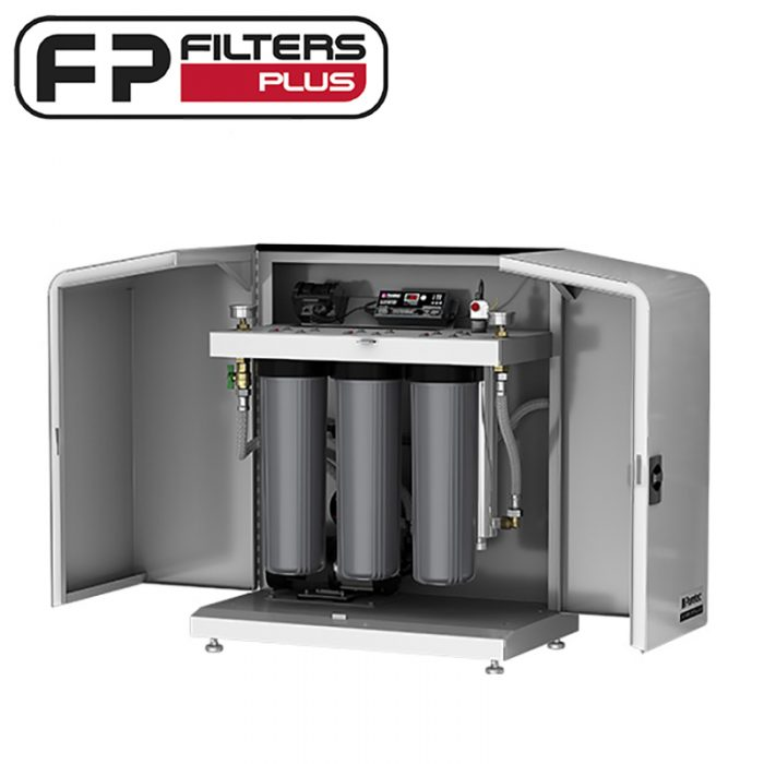 Puretec Hybrid-P3 Whole House system with pump Perth Triple Stage water filter system Melbourne Sydney