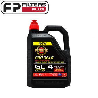 Penrite pro gear 75W90 gear oil Perth 2.5L GL-4 Spec 75W-90 Melbourne Sydney