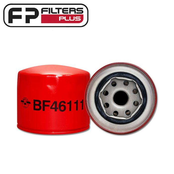 Baldwin Fuel Filter Perth BF46111 Melbourne Suits Yanmar, Doosan Sydney