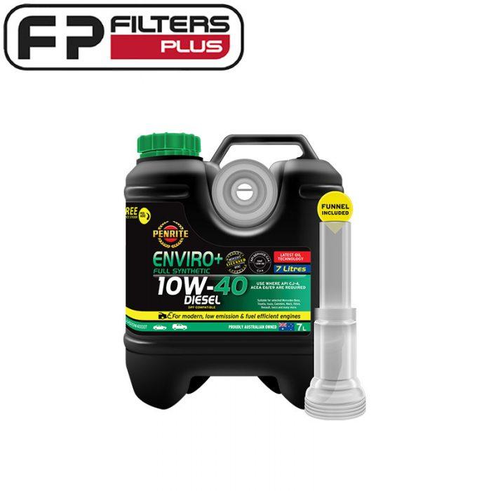 Penrite Enviro+ 10W40 Engine Oil Perth 10W-40 Oil Melbourne EPLUS10W40007
