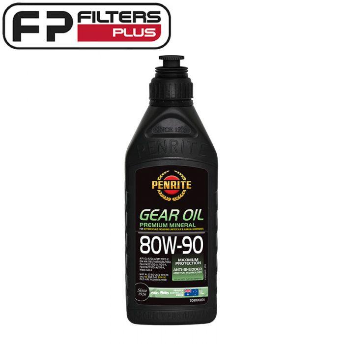 Penrite Gear Oil 80W90 Perth Melbourne Sydney