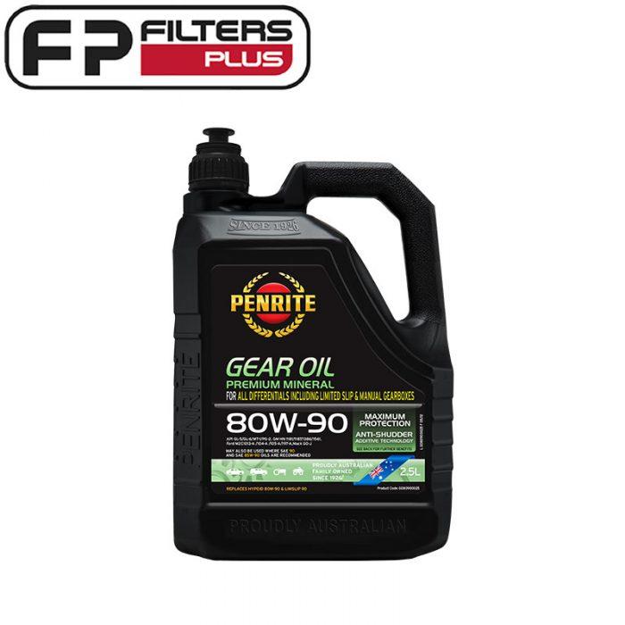 Penrite Gear Oil 80W90 Perth Differential Oil Sydney Melbounre