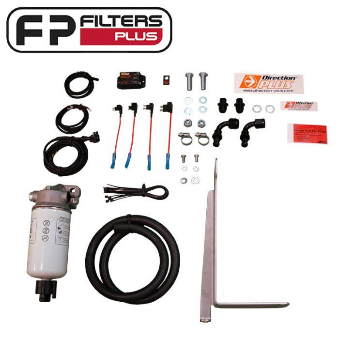 Direction Plus Preline Fuel Water Kit Perth Pre-Filter kit Melbourne Fuel Water Separator Sydney Mann PL150/1