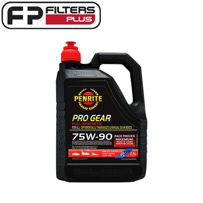 Penrite Gear Oil 75W90 Perth Differential Oil Pro Gear Melbounre PROG75900025 Sydney