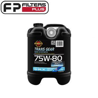 Penrite Trans Gear 75W80 Perth Gear Oil Sydney Differential Oil Melbourne