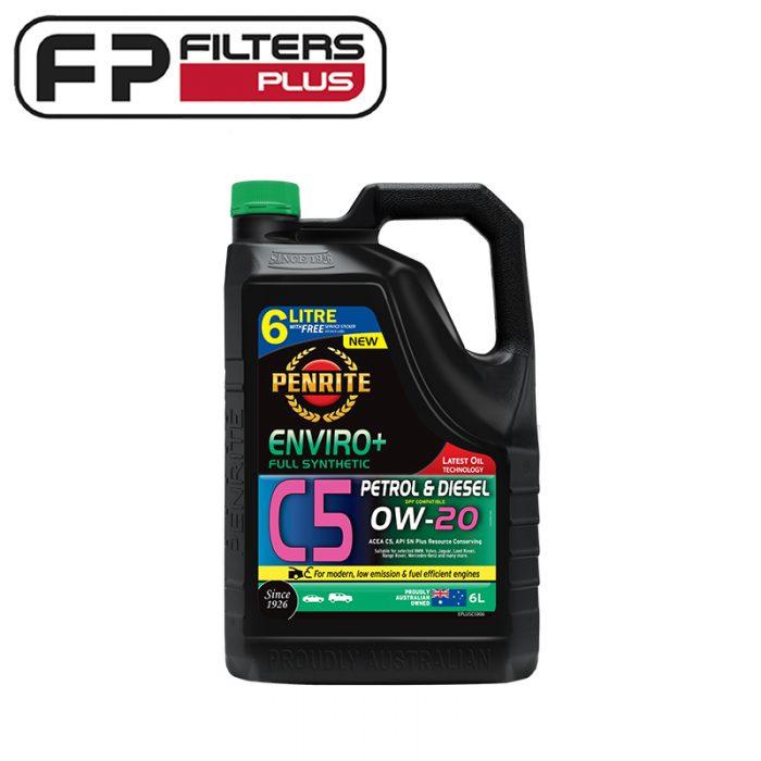 Penrite Enviro+ C5 0W20 Engine Oil